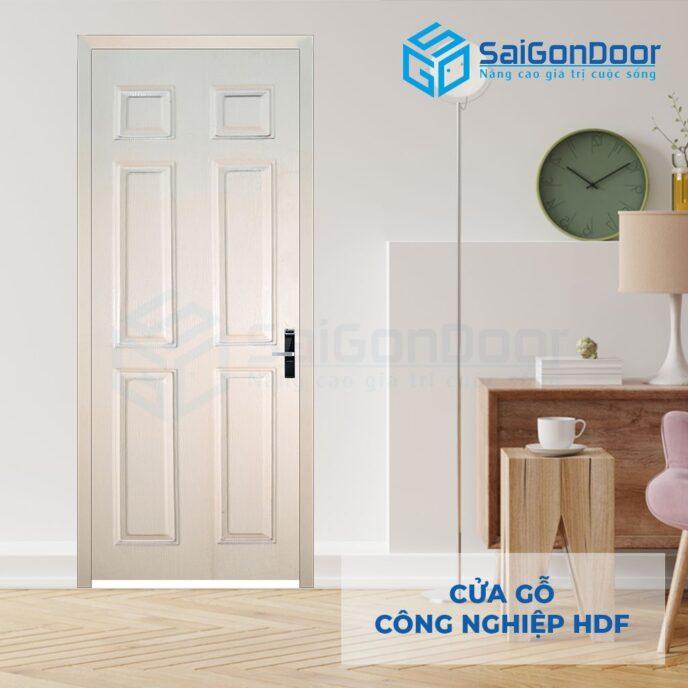 Cửa gỗ công nghiệp HDF 6A C1 6