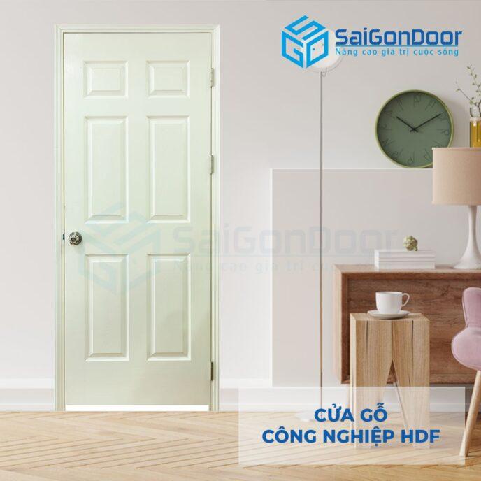 Cửa gỗ công nghiệp HDF 6A C1 7