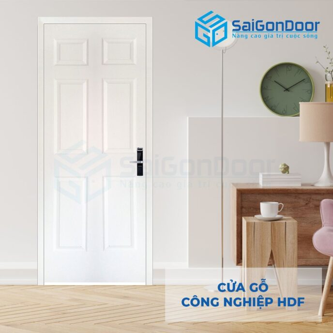 Cửa gỗ công nghiệp HDF 6A C1 9