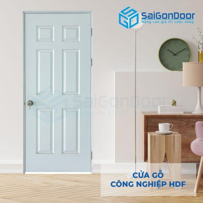 Cửa gỗ công nghiệp HDF 6A C1