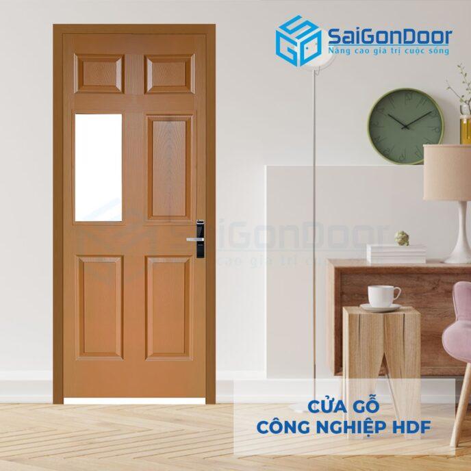 Cửa gỗ công nghiệp HDF 6AG1 8
