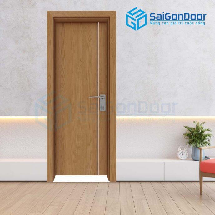 Cửa gỗ phòng ngủ Laminate P1R2s