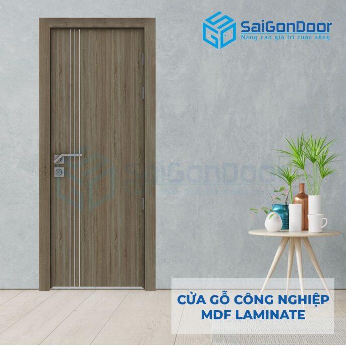 Cửa Gỗ Công Nghiệp MDF Laminate P1R3