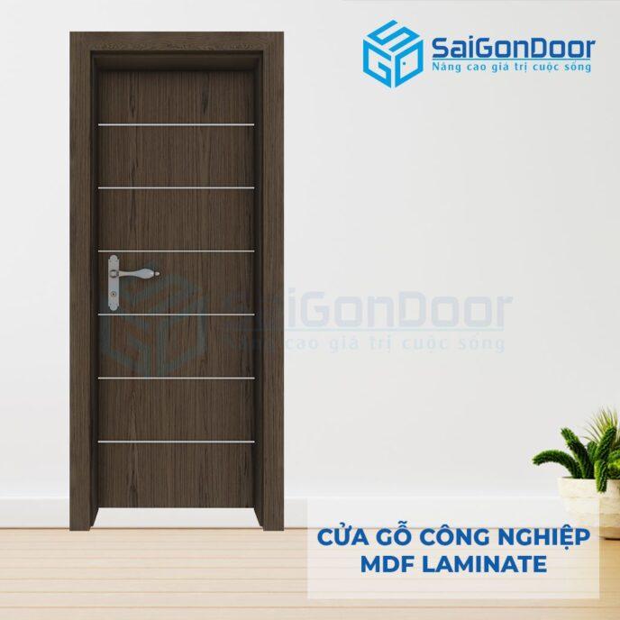Cửa Gỗ Công Nghiệp MDF Laminate P1R6s