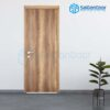 Cửa gỗ cao cấp Hàn Quốc P1 van ngang