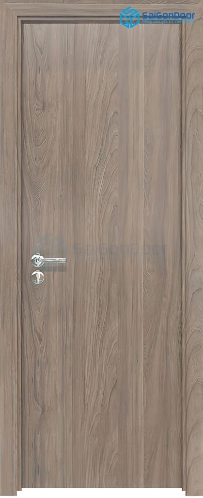 Cửa gỗ phòng ngủ Melammine P1 6