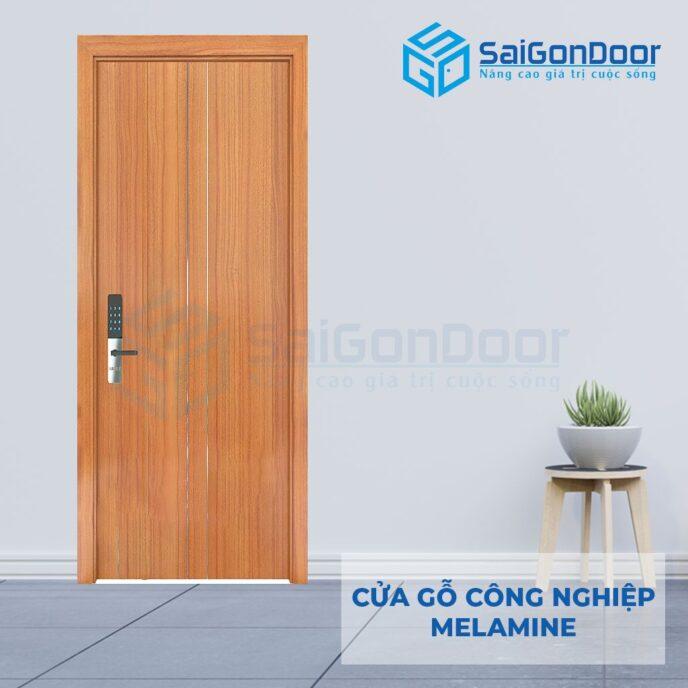 Cửa gỗ cao cấp PVC HDF Melammine P1R2a