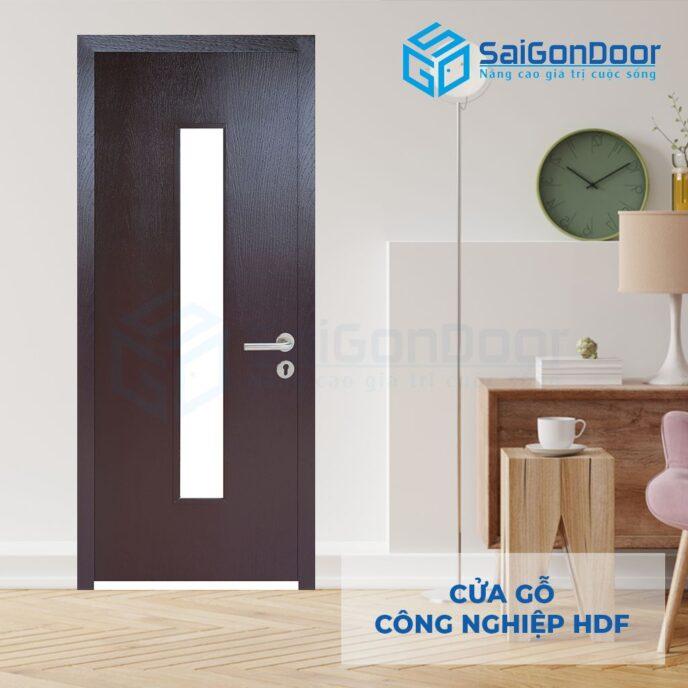 Cửa gỗ công nghiệp HDF P1G1 C14