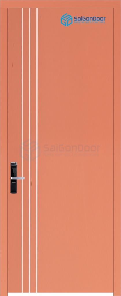 Cửa Nhựa Phòng Khách Sạn P1R3-C10
