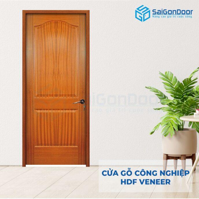 Cửa gỗ công nghiệp HDF Veneer 2A-xoan dao (4)