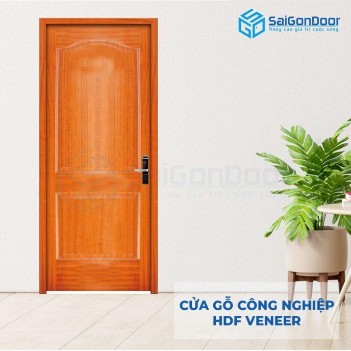Cửa gỗ công nghiệp HDF Veneer 2A-xoan dao (5)