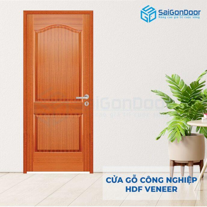 Cửa gỗ công nghiệp HDF Veneer 2A-xoan dao (6)
