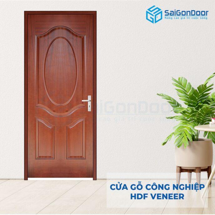 Cửa gỗ công nghiệp HDF Veneer 3A-cam xe (2)