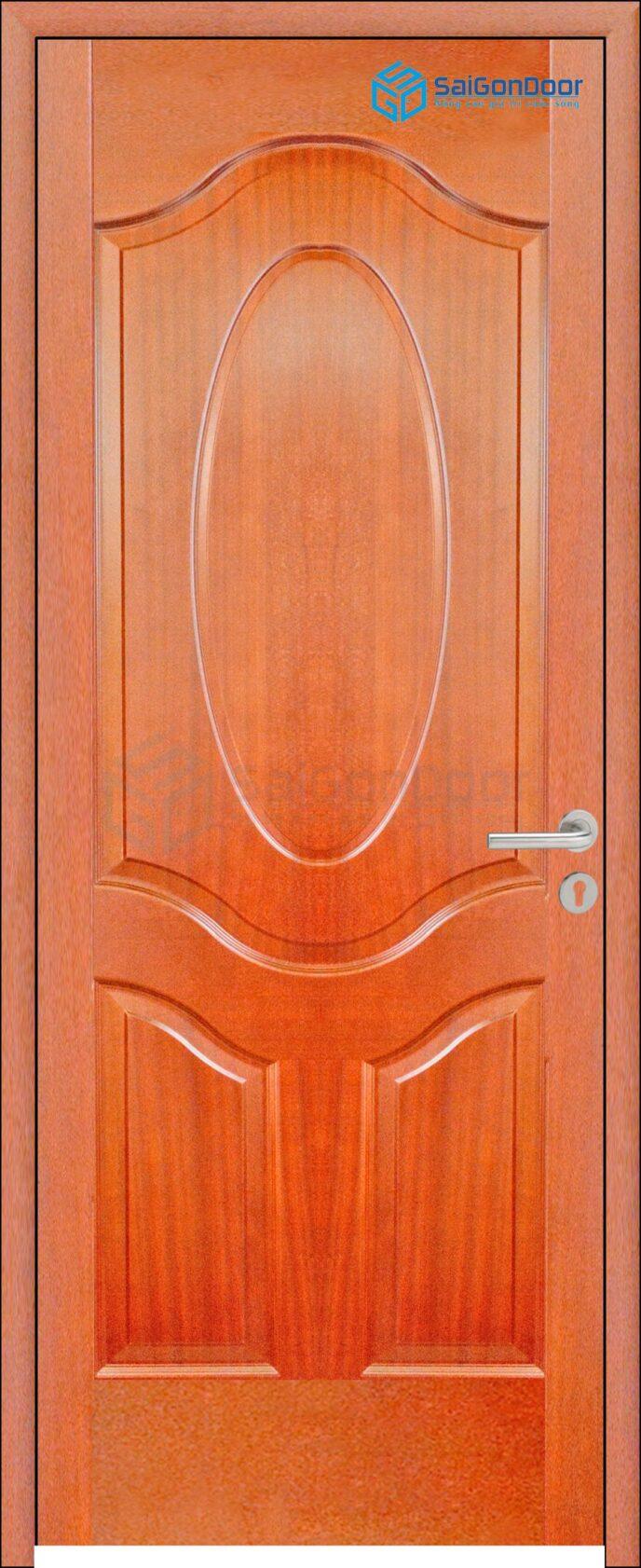 Cửa gỗ công nghiệp HDF Veneer 3A-xoan dao (2)