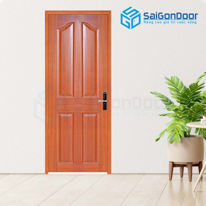 Cửa gỗ cao cấp 4A-sapele