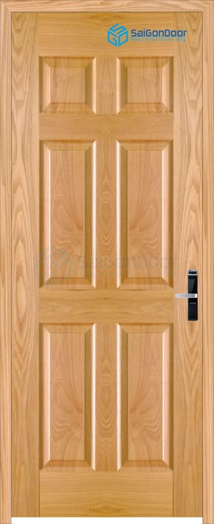 Cửa gỗ phòng ngủ Veneer 6A ash (3)