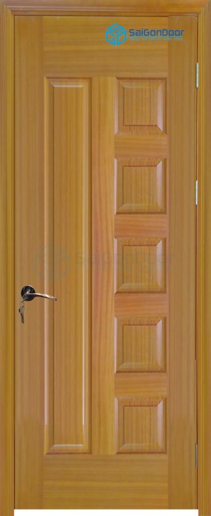 Cửa gỗ phòng ngủ Veneer 6B sapele (3)