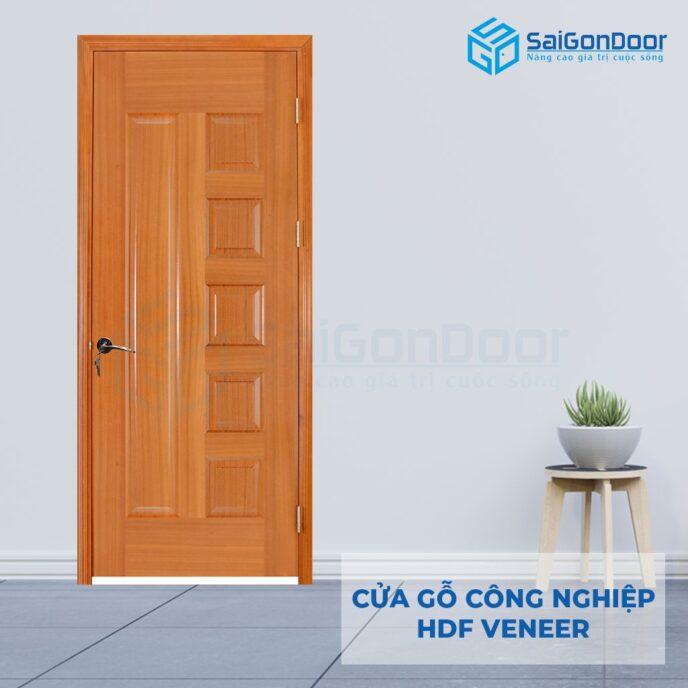 Cửa gỗ công nghiệp HDF Veneer 6B-sapele (4)