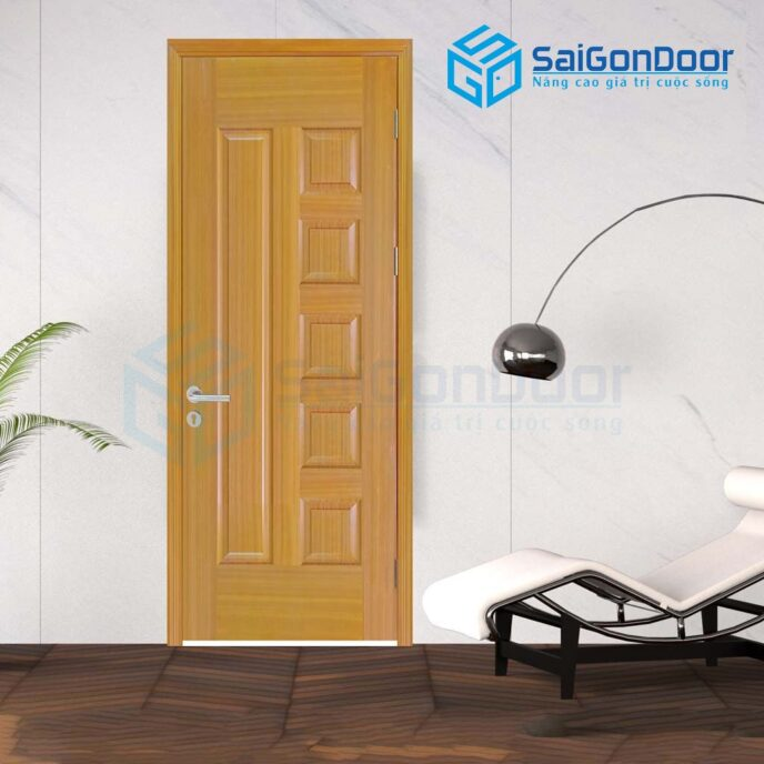 Cửa gỗ nhà vệ sinh 6B-sapele-5