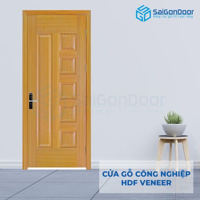 Cửa gỗ công nghiệp HDF Veneer 6B-sapele (6)