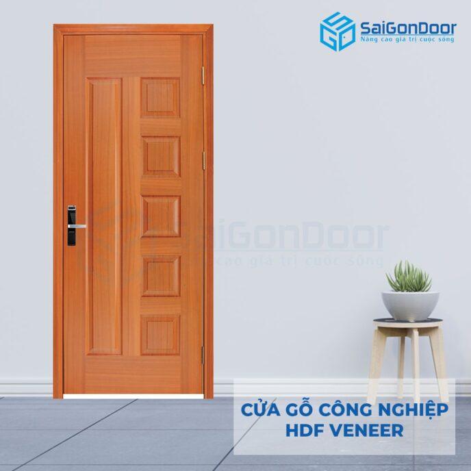 Cửa gỗ công nghiệp HDF Veneer 6B-sapele (8)