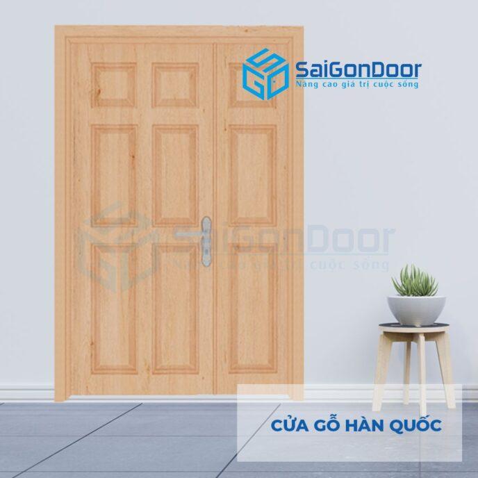 Cửa Nhựa Cao Cấp Hàn Quốc 2-canh-9A-Oak-1