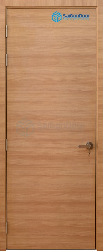 Cửa gỗ phòng ngủ MDF Laminate P1vn(2)