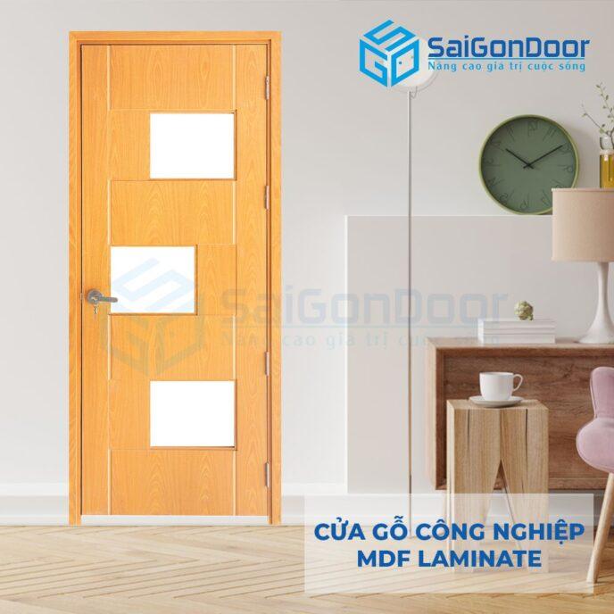 Cửa Gỗ Công Nghiệp MDF Laminate P103