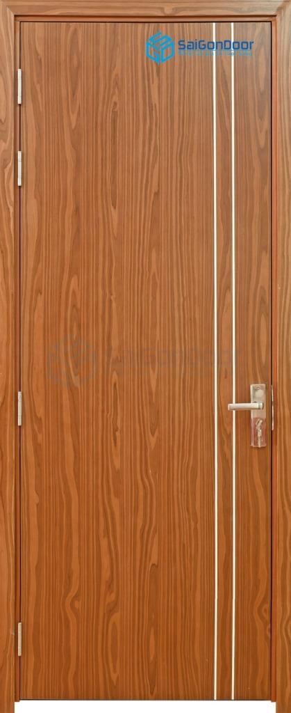 Cửa gỗ nhà tắm P1R2-2