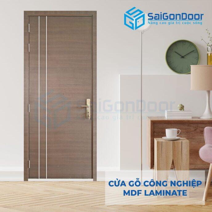 Cửa Gỗ Công Nghiệp MDF Laminate P1R2 (4)