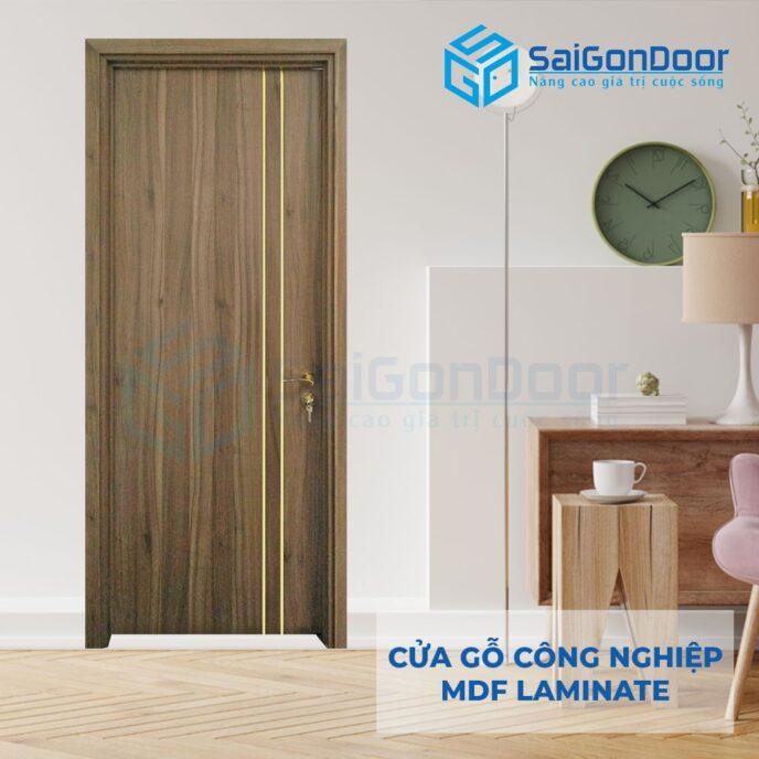 Cửa Gỗ Công Nghiệp MDF Laminate P1R2 (6)