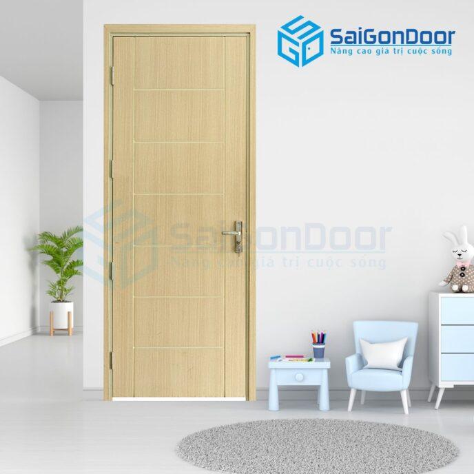 Cửa Nhựa Phòng Khách Sạn MDF-Laminate-P1R8