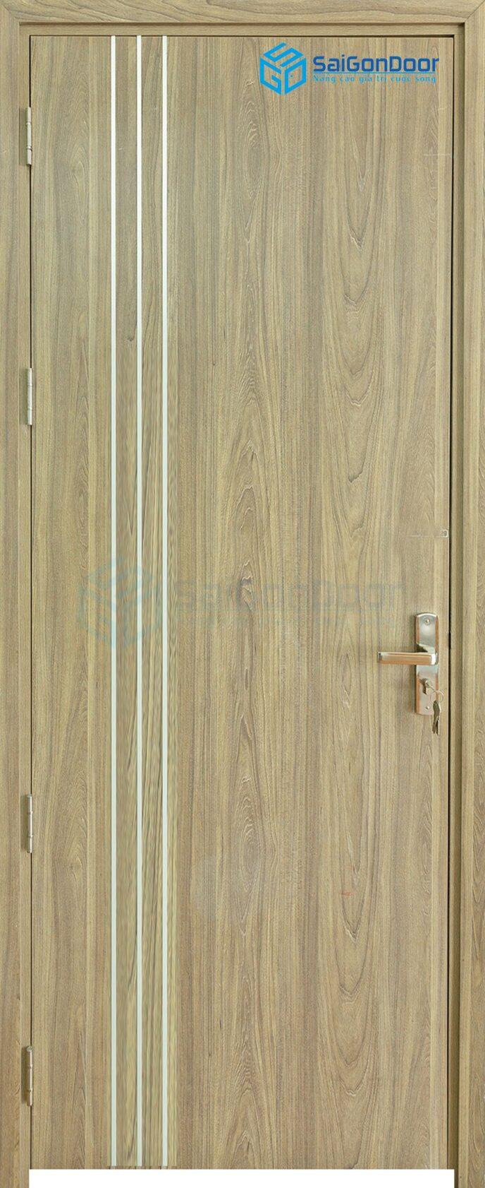 Cửa gỗ cao cấp Hàn Quốc P1R3 2302