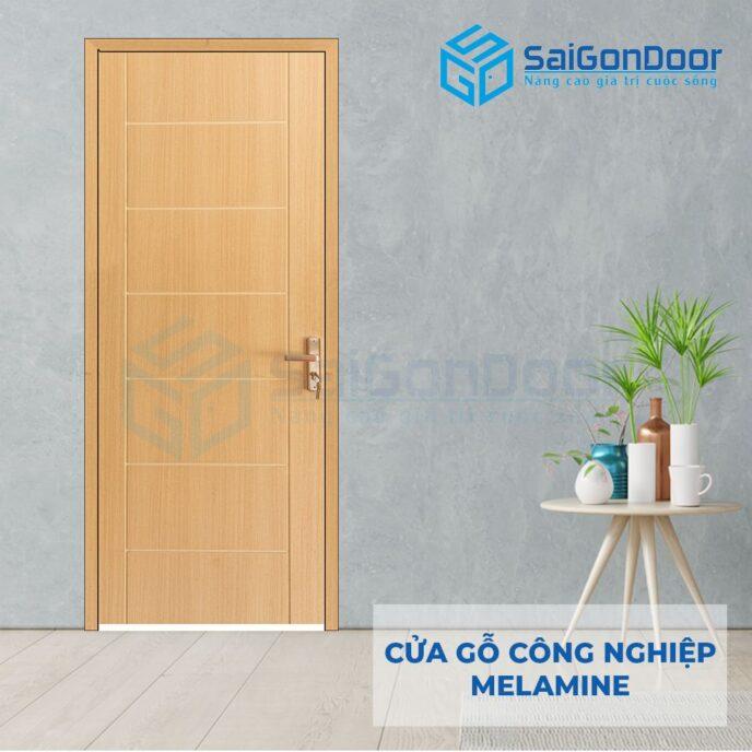 Cửa Gỗ Công Nghiệp MDF Melamine P1R8
