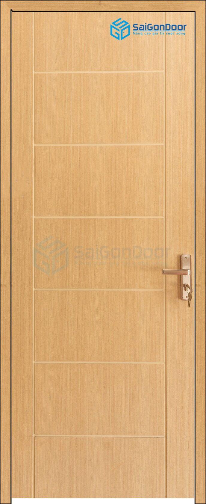 Cửa gỗ cao cấp Hàn Quốc P1R8