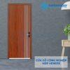 Cửa gỗ công nghiệp MDF Veneer P1R2 soi 2