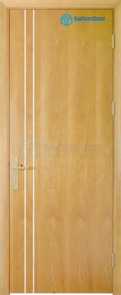 Cửa gỗ cao cấp PVC MDF Veneer P1R2 ash (2)