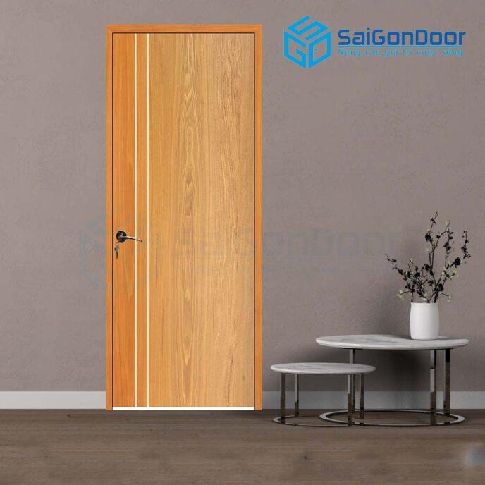 Cửa gỗ cao cấp P1R2 soi 4