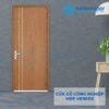 Cửa gỗ công nghiệp MDF Veneer P1R2 xoan dao 2