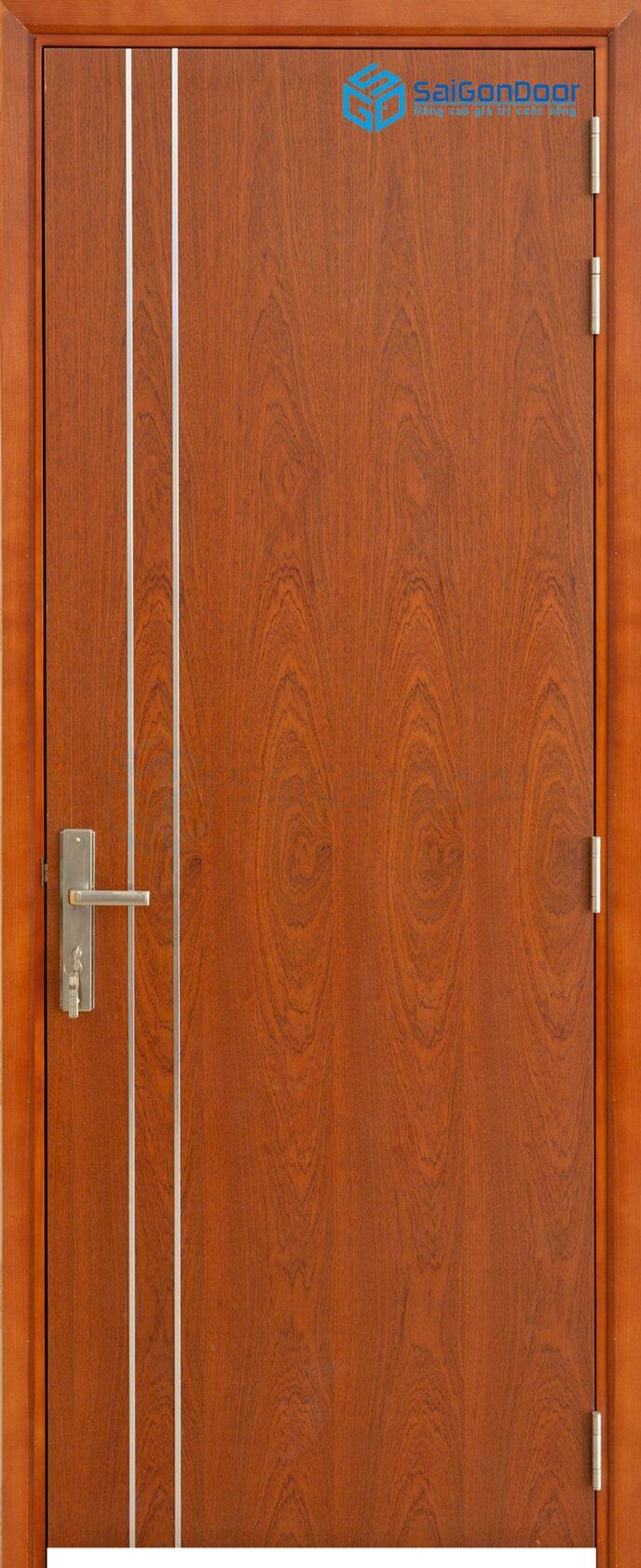 Cửa gỗ cao cấp P1R2 xoan dao 4