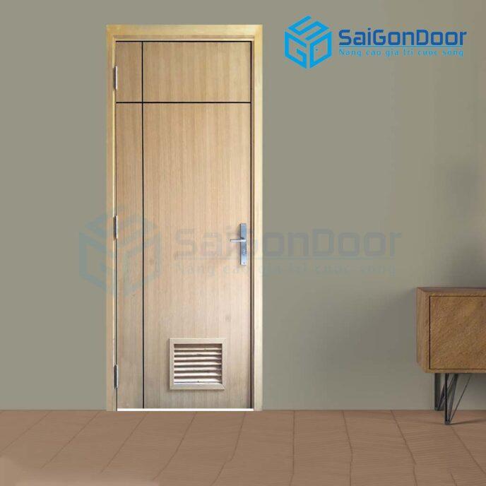 Cửa gỗ nhà vệ sinh P1R2L1