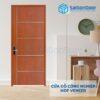 Cửa gỗ công nghiệp MDF Veneer PN4-C1
