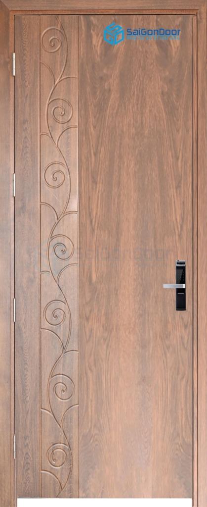 Cửa gỗ cao cấp PVC MDF phu pvc