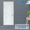 Cửa gỗ công nghiệp MDF Veneer O4-C1 phao chi noi