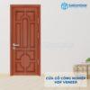 Cửa gỗ công nghiệp HDF Veneer 6B sapele (1)