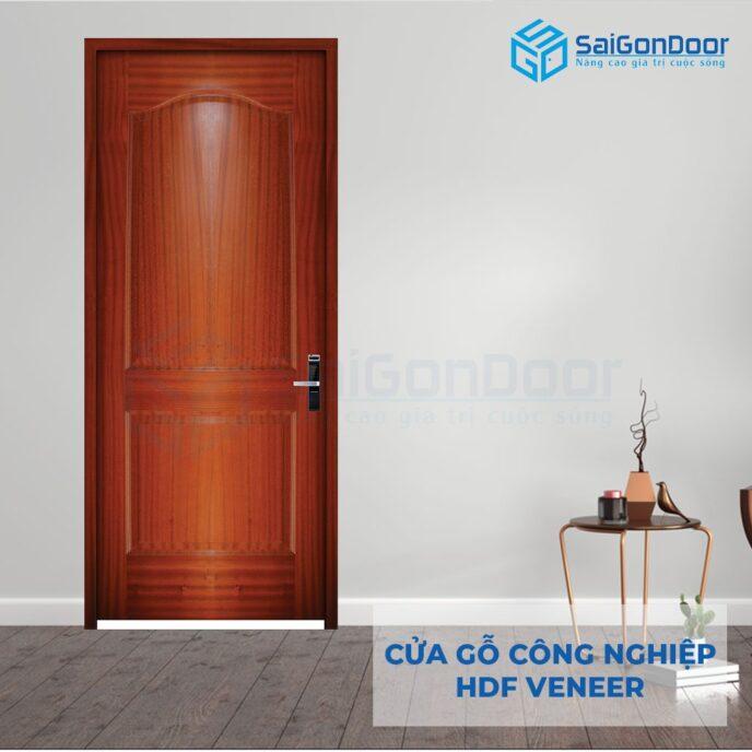 Cửa gỗ công nghiệp HDF Veneer HDF Veneer 2A cam xe