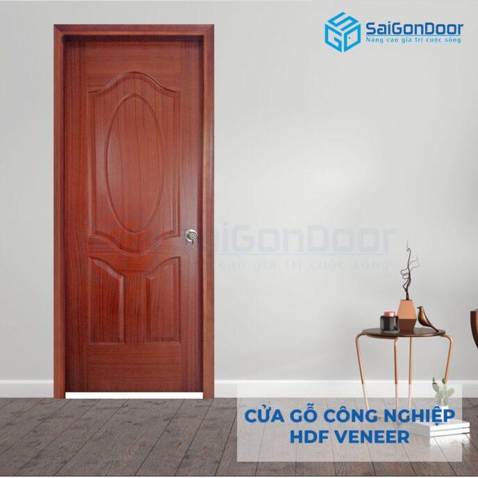 Cửa gỗ công nghiệp HDF Veneer HDF Veneer 3A cam xe