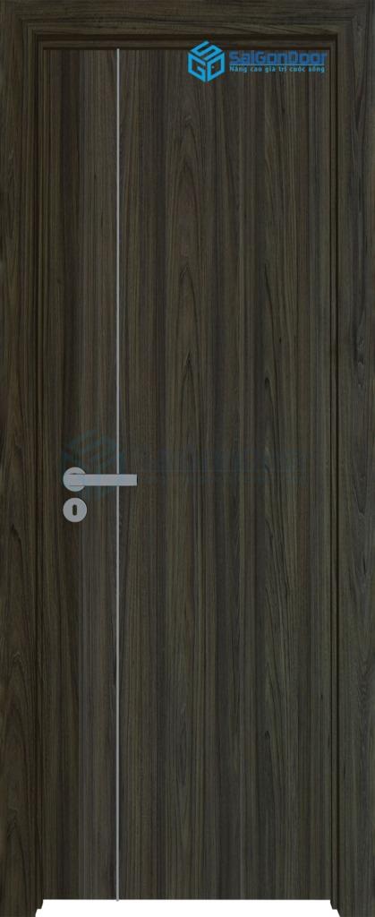 Cửa gỗ nhà tắm MDF-Laminate-P1R11