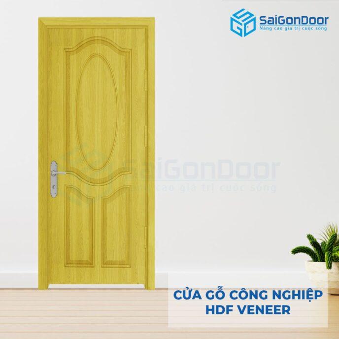 Cửa gỗ công nghiệp HDF Veneer SGD 3A ash (1)