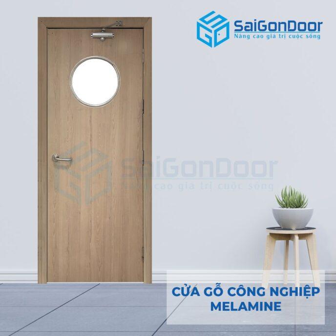 Cửa Gỗ Công Nghiệp MDF Melamine P1G0
